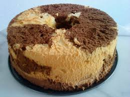 cooking pleasure chocolate marble chiffon cake