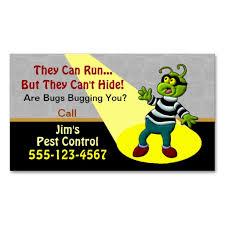 pest service business card pest business cards