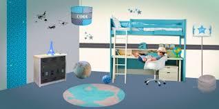 chambre theme espace chambre garcon theme voiture chambre enfant bleu et d co aux