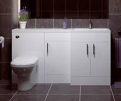 thorpe white 1500 l shaped sink combination unit rh bathrooms com