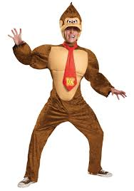 Size Animal Halloween Costumes Size Deluxe Donkey Kong Costume