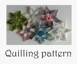 quilling designs tutorial pdf star quilling pattern paper quillingtutorial embellishment