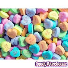 candy hearts sweethearts tiny conversation candy hearts modern flavors 32lb