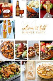 easy fall dinner party menu home design ideas