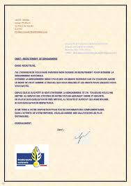 bureau de recrutement gendarmerie candidature acceptée dossier de candidature de gosier philibert