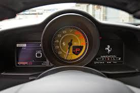 ferrari 458 speedometer 2016 ferrari 488 gtb instrument cluster motor trend