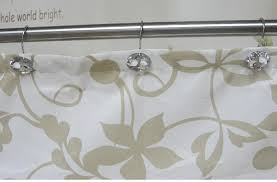 Shower Curtain Track Hooks Small Crystal Shower Curtain Hooks Crystal Acrylic Hook Shower