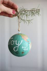 25 unique globe ornament ideas on diy