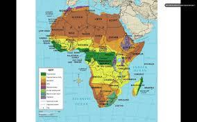Physical Features Map Of Africa by Africa Climate And Vegetation Youtube