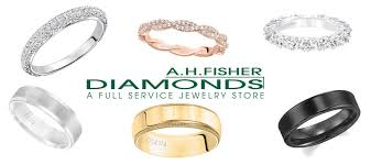 broadstreet wedding band thanks for attending the view for two a h fisher diamonds