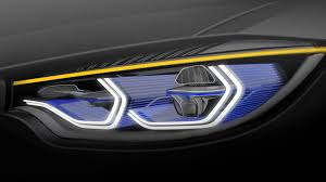 bmw headlights at night bmw m4 iconic lights concept shows off laser headlights and oled