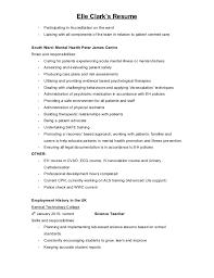 patient advocate resume elle clark u0027s nursing resume