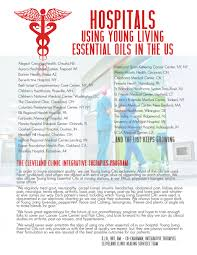 new home essentials list of hospitals that use young living essential oils young