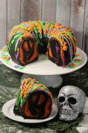 Halloween Bundt Cake Decorations by Spooky Bundt Cake Life Love Liz