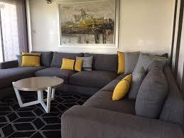 canape design gris splendide canape lounge set thequaker org