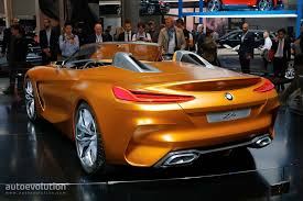 bmw z4 concept brings shark nose grille and stunning interior