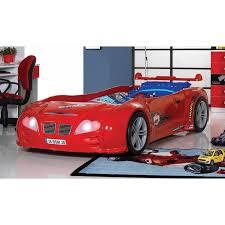 chambre voiture lit enfant turbo lit voiture avec phares fonctionnant décors