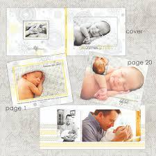 Baby Photo Album Simple Photoshop Album Templates With Unique Designs