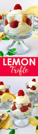 lemon trifle recipe easy whipped lemon raspberry dessert
