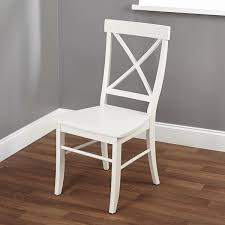 Simple Chair Simple Living Easton Antique White Cross Back Chair Free