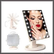 Magnifying Mirror With Light Led Makeup Mirror With 22 Built Lights Led Make Up Mirror For Desk