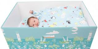 should babies be sleeping in cardboard boxes
