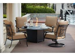 Darlee Patio by Darlee Outdoor Living Standard Capri Cast Aluminum 5 Piece