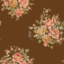wallpaper bunga warna orange glowing victoria brand wallpaper dinding wallpaper bagus