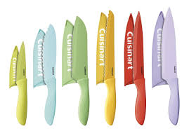 Coloured Kitchen Knives Cuisinart C55 12pcer1 Advantage Color Collection 12