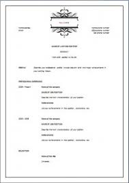 Sample Formal Resume by Elegant Resume Template
