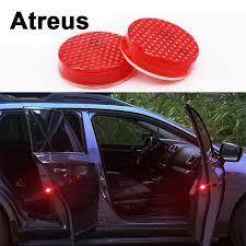 Toner Opel atreus2pc car door warning signal crash strobe lights led for lexus