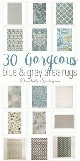 Gray Area Rug Blue And Gray Large Area Rugs Domestically Speaking