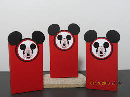 mickey mouse favor bags mickey mouse favor bags from scrapbooksolutions on etsy studio