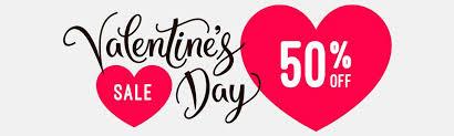 valentines sale valentines day sale 50