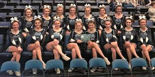 varsity cheerleaders earn 7th at icca state championships mater