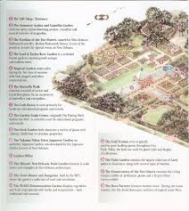 Map Of City Park New Orleans by Travelmarx New Orleans Botanical Garden