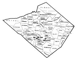 map of berks county pa berks county housers