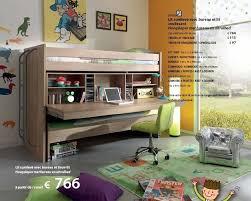 meubles belot chambre meubles belot promotion lit surélevé avec bureau et tiroir lit