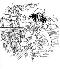 10 images of pirates of the caribbean ship coloring pages within