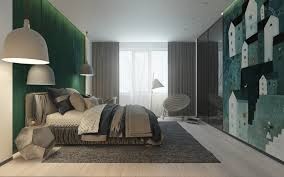 Gray Green Bedroom - bedroom simple charming grey and green bedroom grey decor ideas
