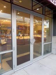 Interior Storefront I Dig Hardware Wwyd Hanging Aluminum Storefront Doors