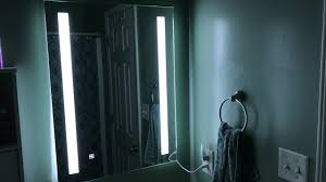 alice dimmable led backlit mirror bathroom makeup with touch