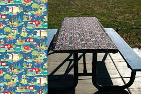 elasticized picnic table covers 3 piece fitted picnic table bench covers picnic table cloth o