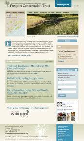 freeport conservation trust website direct mail wendy clark design