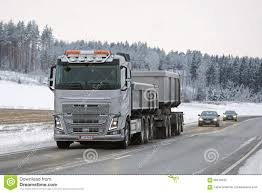 volvo fh 2016 price volvo fh16 650 combination truck on winter road editorial