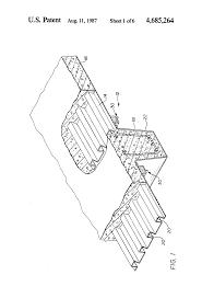 patent us4685264 concrete slab beam form system for composite