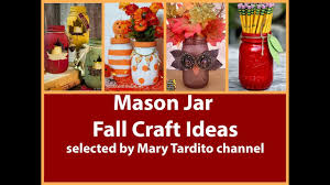 Halloween Jars Crafts by Easy Mason Jar Fall Decorations U2013 Diy Fall Decorating Ideas