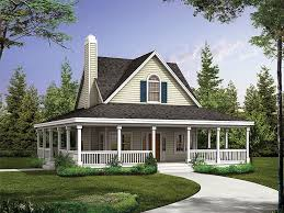 country cottage house plans with porches small foot print remember it is cheaper to build up than out