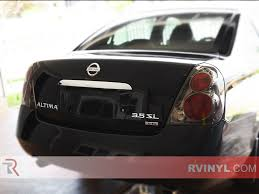 purple nissan altima rtint nissan altima 2002 2006 tail light tint film