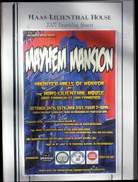 mayhem mansion san francisco u0027s haunted halls of horror